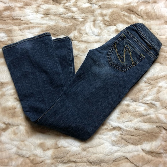 Silver Jeans Denim - Silver Jeans Tuesday Women 27/31 Blue Jeans